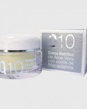 Crema nutritiva Q10 Aloe