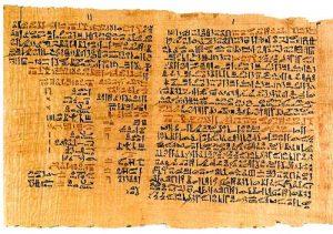 Papiro de Ebers - Aloeveraplanet