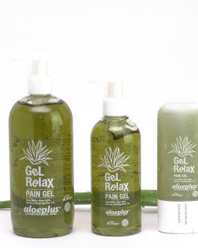 Gel relax Aloe vera-Relajante muscular